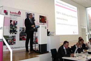 Andreas Hemsing, Landesvorsitzender der komba gewerkschaft nrw (Foto: © komba gewerkschaft nrw)