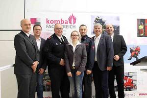 Vorstand des Fachbereichs Feuerwehr und Rettungsdienst der komba gewerkschaft nrw (Foto: © komba gewerkschaft nrw)