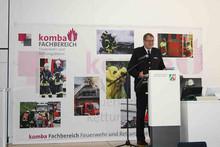 Berthold Penkert, Direktor des Instituts der Feuerwehr NRW