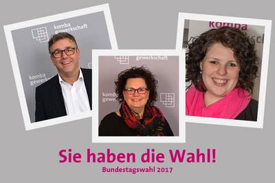 v.l.n.r.: Andreas Hemsing, Sandra van Heemskerk und Paulina Lut (© Markus Klügel)