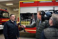 Valentino Tagliafierro (Vorsitzender des Fachbereich Feuerwehr und Rettungsdienst der komba gewerkschaft nrw)