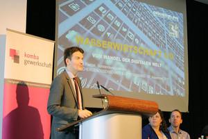 Dr. Uli Paetzel, Vorstandsvorsitzender Emschergenossenschaft und Lippeverband (Foto: © komba gewerkschaft nrw)