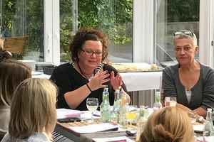Sandra van Heemskerk (links) und Martina Favero. Foto: © komba nrw