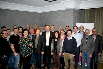 Der Landesvorstand der komba gewerkschaft nrw startet ins Gewerkschaftsjahr 2018 (Foto: © komba gewerkschaft nrw)