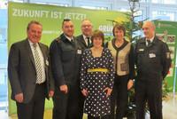 v.l.n.r.: Schwill, Tagliafierro, Stratmann, Schäffer, Düker, Schulzki (Foto: @ komba gewerkschaft nrw)