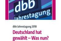 Logo dbb Jahrestagung 2018 (© dbb)